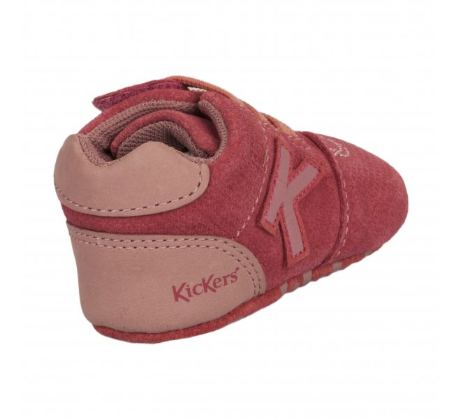 Bottines fille - KICKERS - Rose