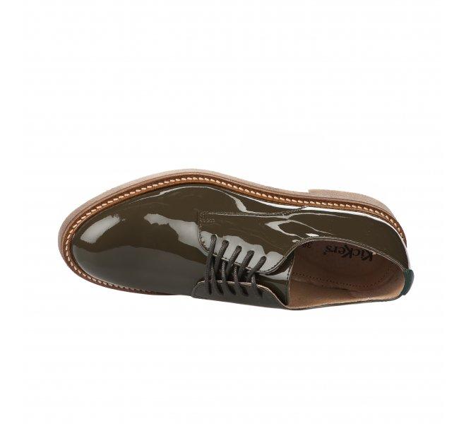 Chaussures basses fille - KICKERS - Kaki