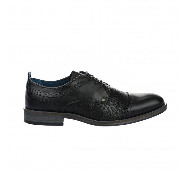 Chaussures à lacets garçon - JOOZE - Noir