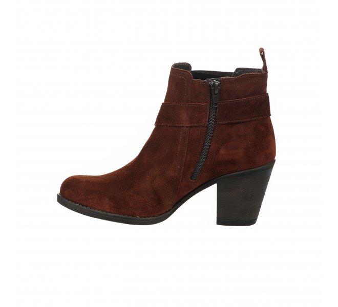 Boots fille - MIGLIO - Marron cognac