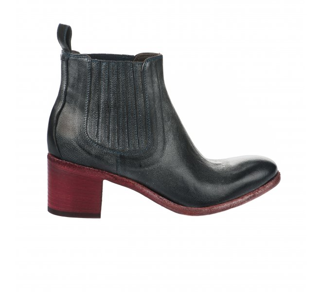 Boots fille - JP DAVID - Bleu gris