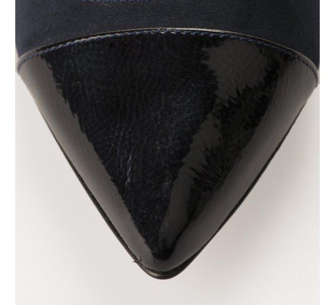 Escarpins fille - STYME - Bleu verni