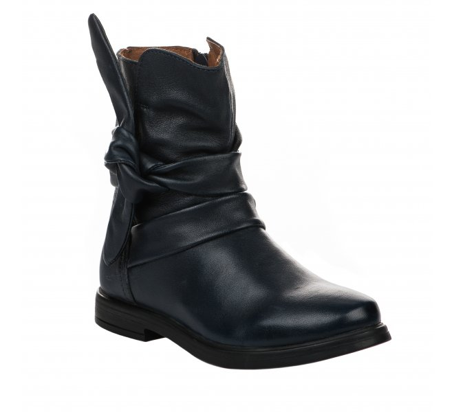 Boots fille - APPLES & PEARS - Bleu marine