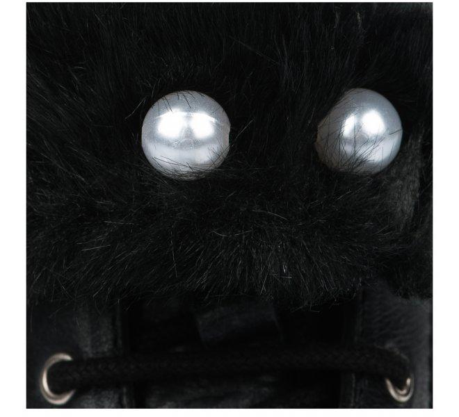 Bottines fille - APPLES & PEARS  - Noir