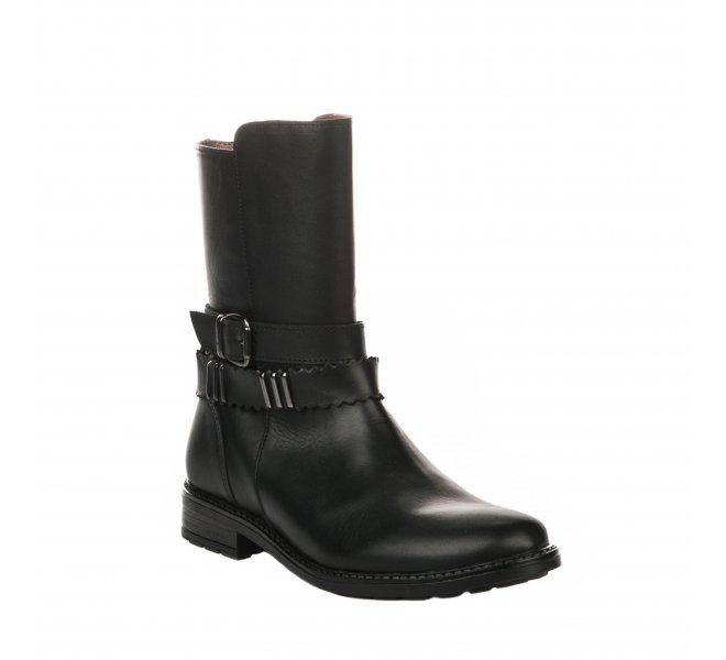 Demi bottes fille - BELLAMY - Noir