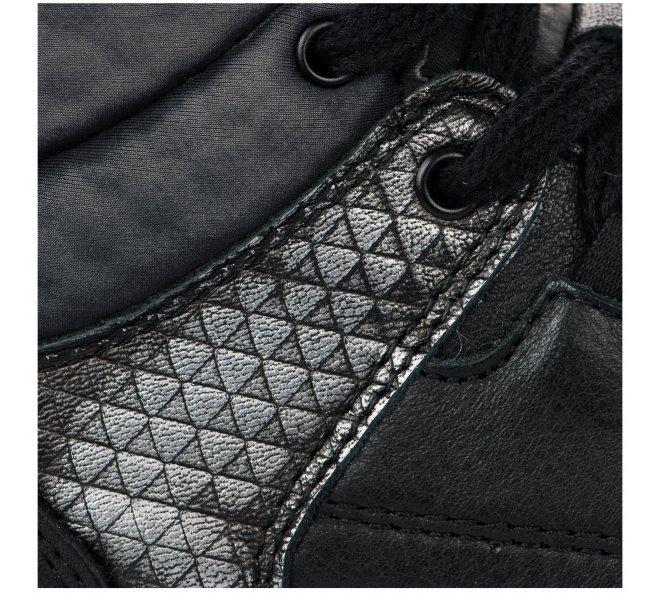 Baskets garçon - LITTLE DAVID - Noir