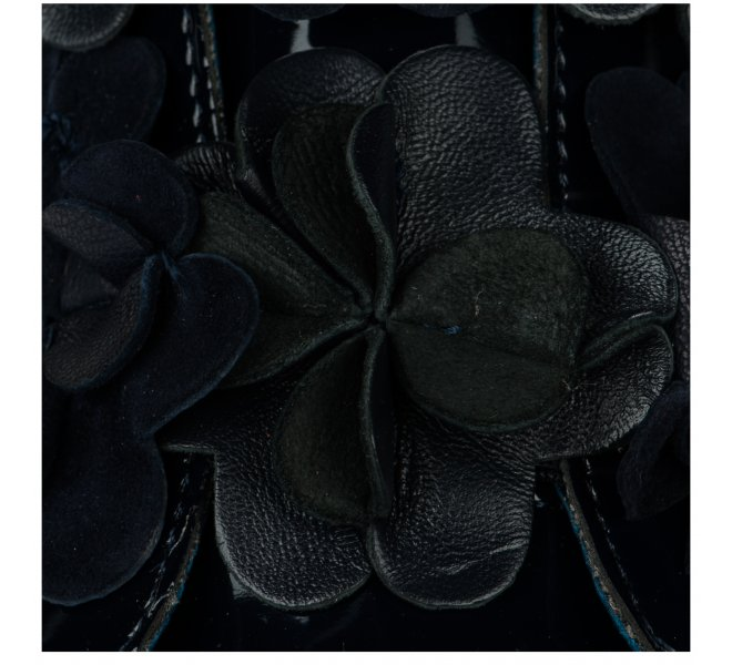 Baskets fille - LITTLE DAVID - Bleu marine