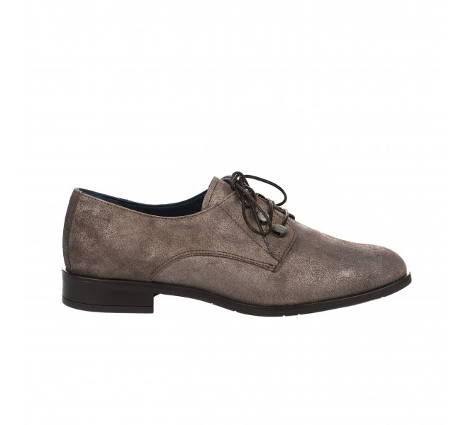 Chaussures à lacets fille - DORKING - Taupe