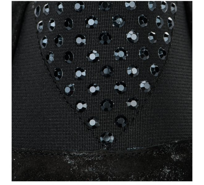 Chaussures de confort fille - DORKING - Noir