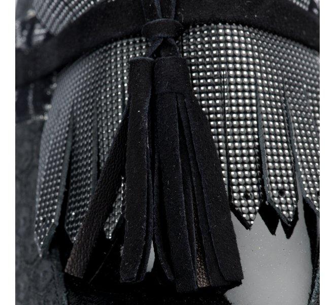 Mocassins fille - REGARD - Noir