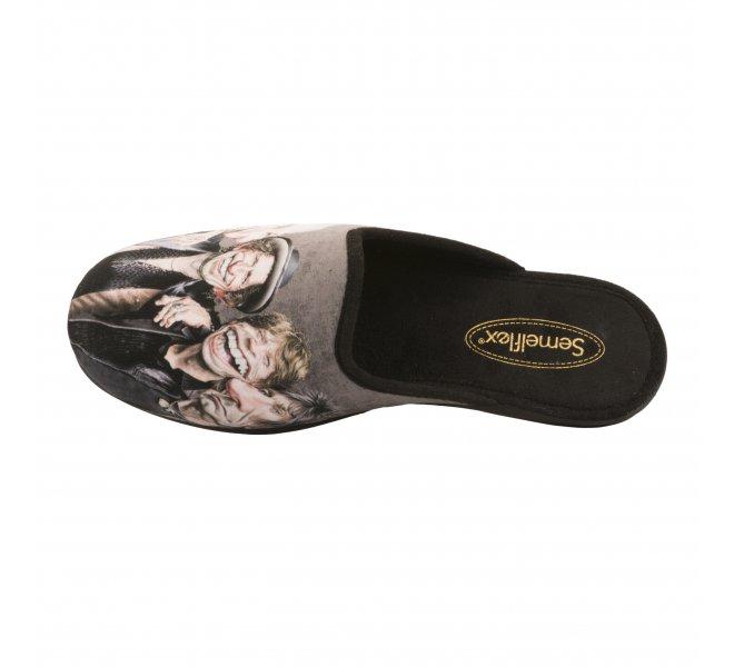 Chaussures garçon - SEMELFLEX - Gris