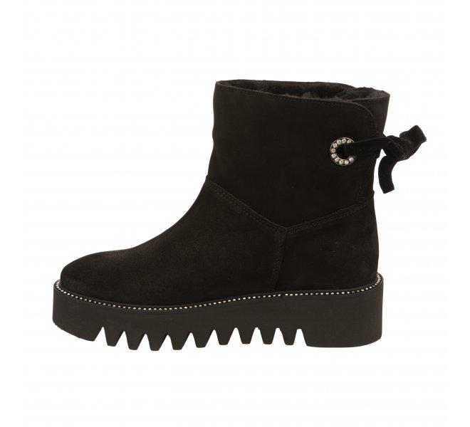 Boots fille - ALPE - Noir