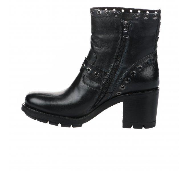 Boots fille - PAOYAMA - Noir