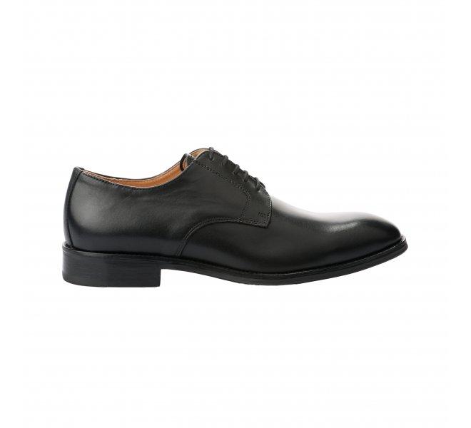 Chaussures à lacets garçon - PELLET - Noir