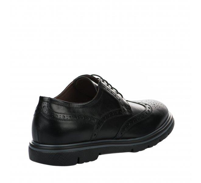 Chaussures à lacets garçon - NEROGIARDINI - Noir
