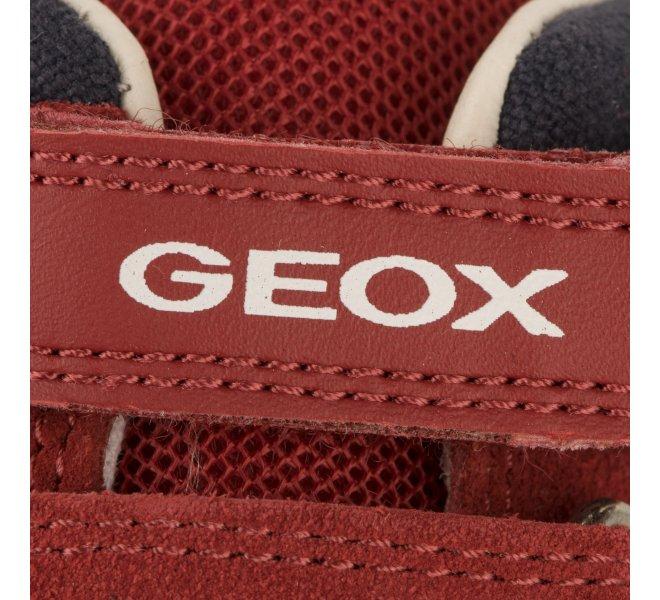 Baskets garçon - GEOX - Rouge bordeaux