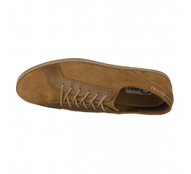 Chaussures basses garçon - FIRST COLLECTIVE - Naturel
