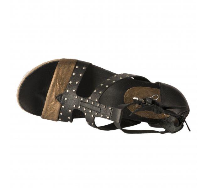Nu pieds fille - MIGLIO - Noir