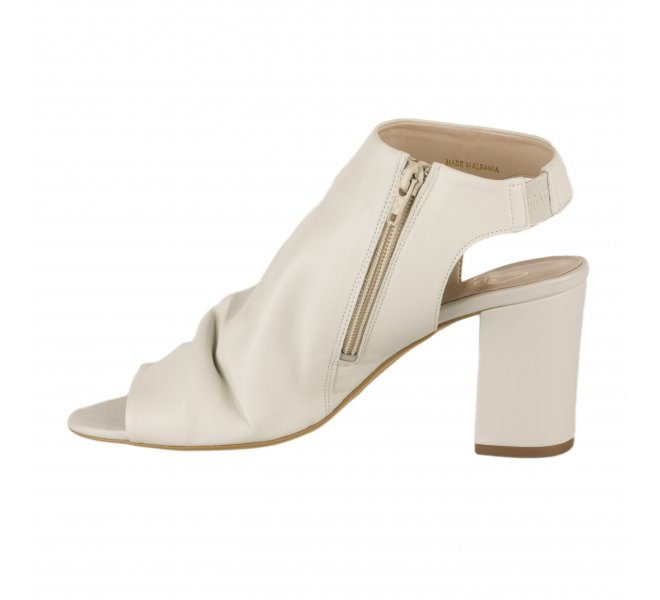 Nu pieds fille - STYME - Blanc