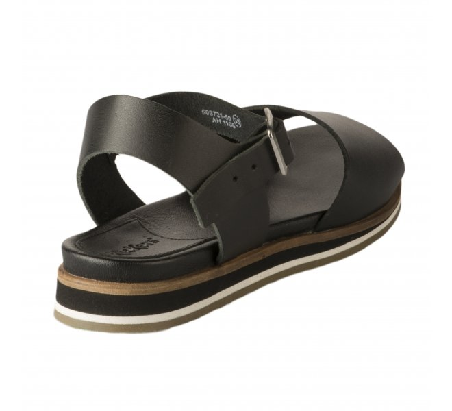 Nu pieds fille - KICKERS - Noir