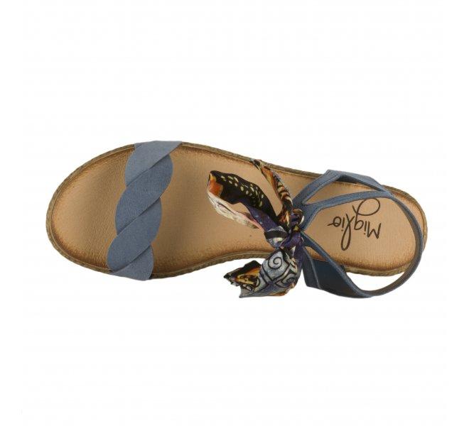 Nu pieds fille - MIGLIO - Bleu