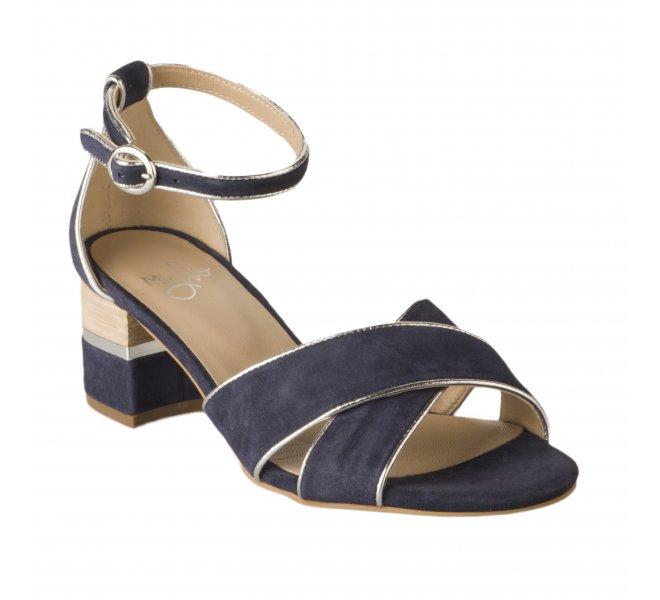 Nu pieds fille - MIGLIO - Bleu marine