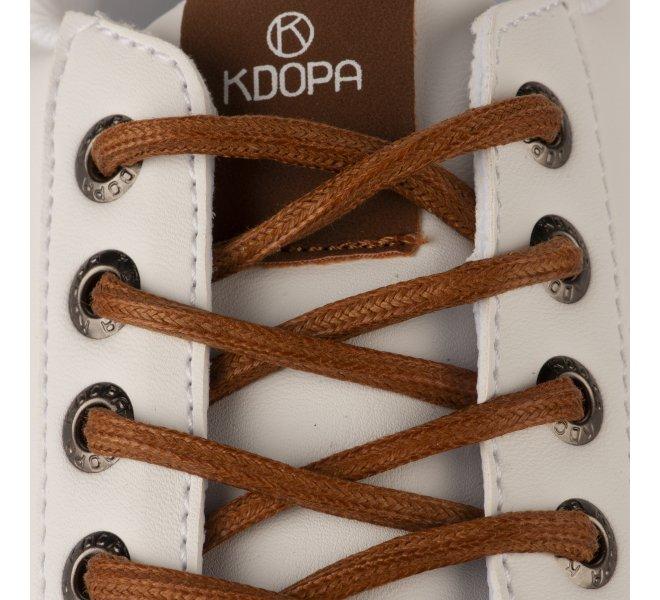 Baskets garçon - KDOPA - Blanc