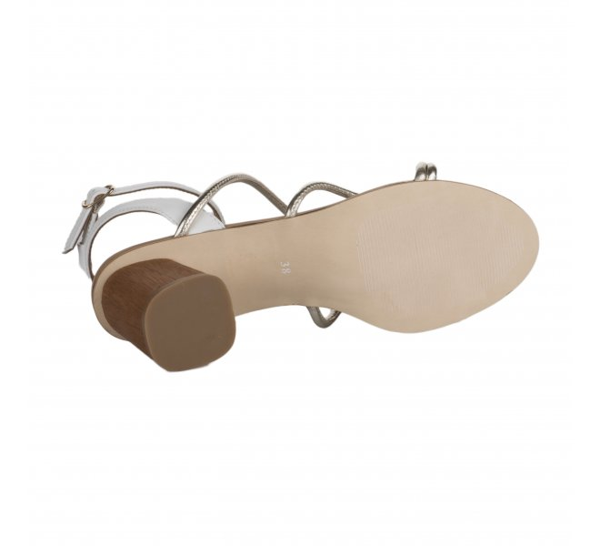 Nu pieds fille - FEMME  PLUS - Blanc