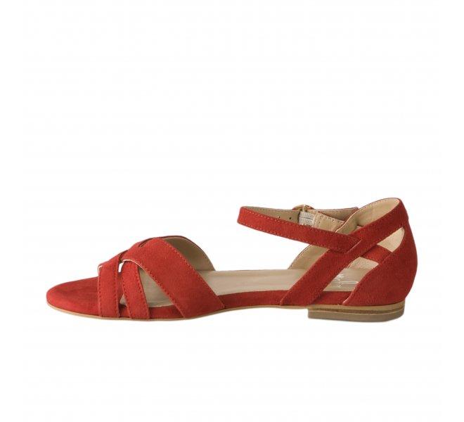 Nu pieds fille - MIGLIO - Rouge