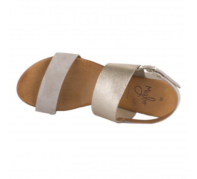 Nu pieds fille - MIGLIO - Beige dore