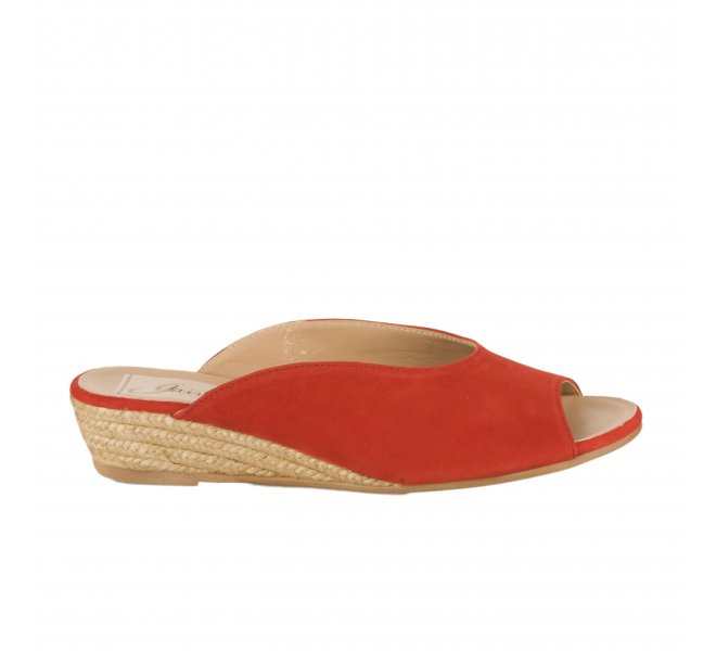 Mules fille - GAIMO - Rouge