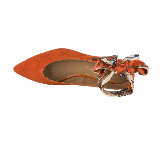 Ballerines fille - EMILIE KARSTON - Orange