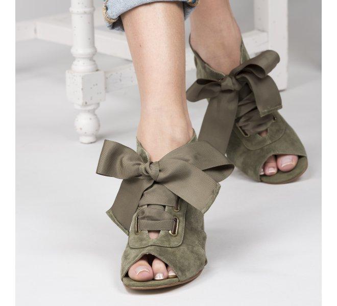 Nu pieds fille - EMILIE KARSTON - Kaki