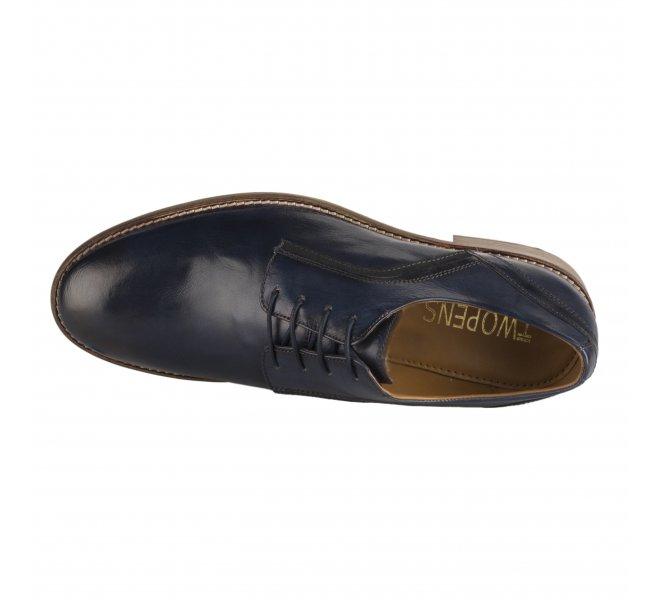 Chaussures à lacets garçon - TWOPENS - Bleu marine