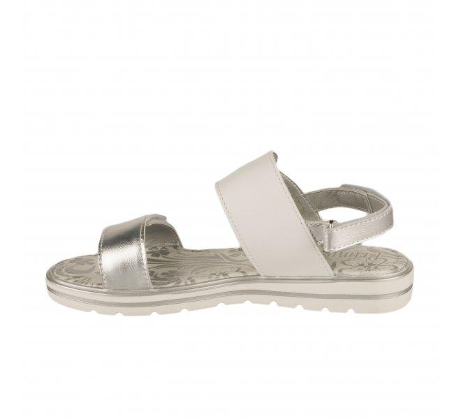 Nu-pieds fille - PRIMIGI - Beige argent