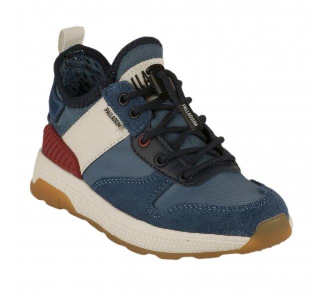 Baskets garçon - PALLADIUM - Bleu