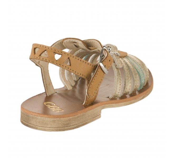 Nu-pieds fille - GBB - Marron