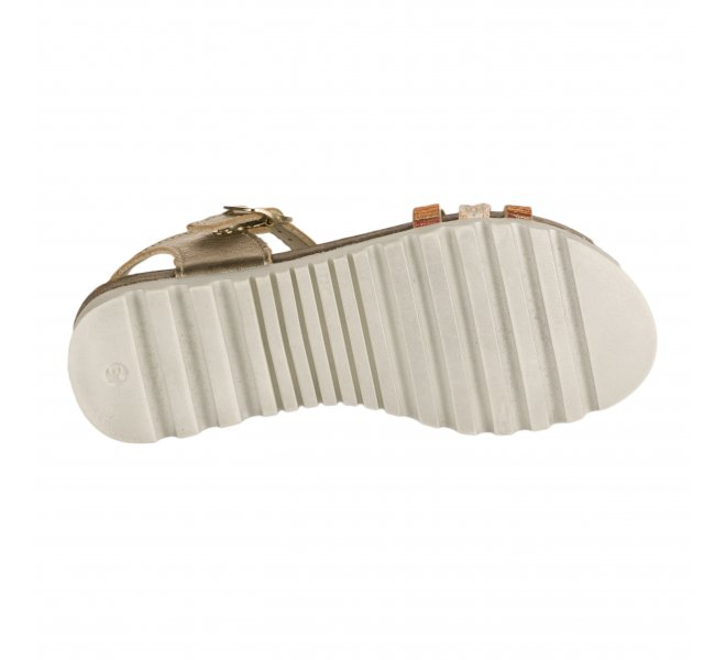 Nu-pieds fille - BOPY - Orange