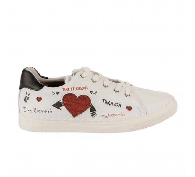 Baskets fille - BELLAMY - Blanc