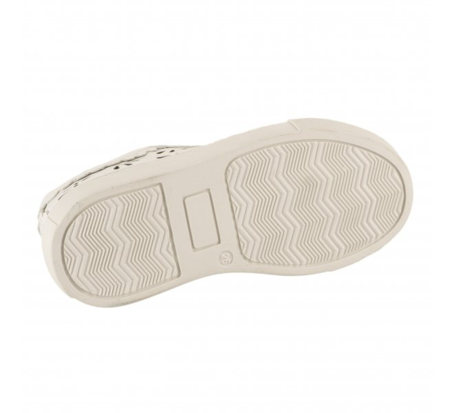 Baskets fille - LITTLE DAVID - Blanc