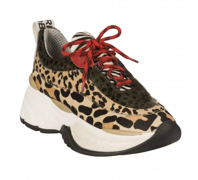 Baskets fille - MéLINé - Leopard