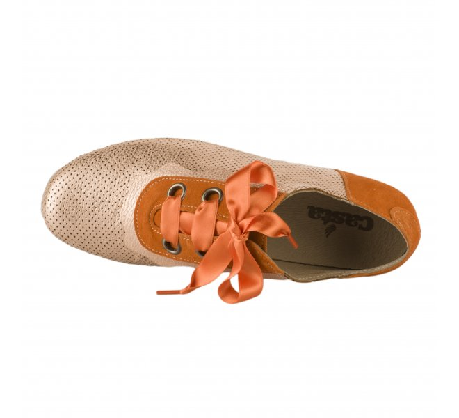 Baskets mode fille - CASTA  - Orange