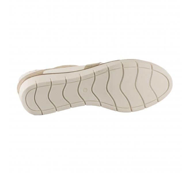 Chaussures à lacets fille - GEO REINO - Blanc verni