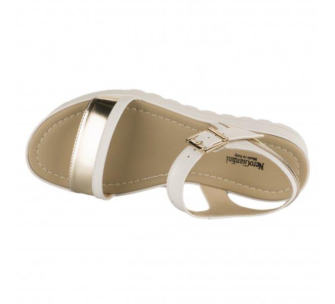 Nu pieds fille - NEROGIARDINI - Blanc