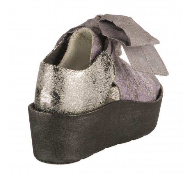 Nu pieds fille - PAPUCEI - Violet lilas