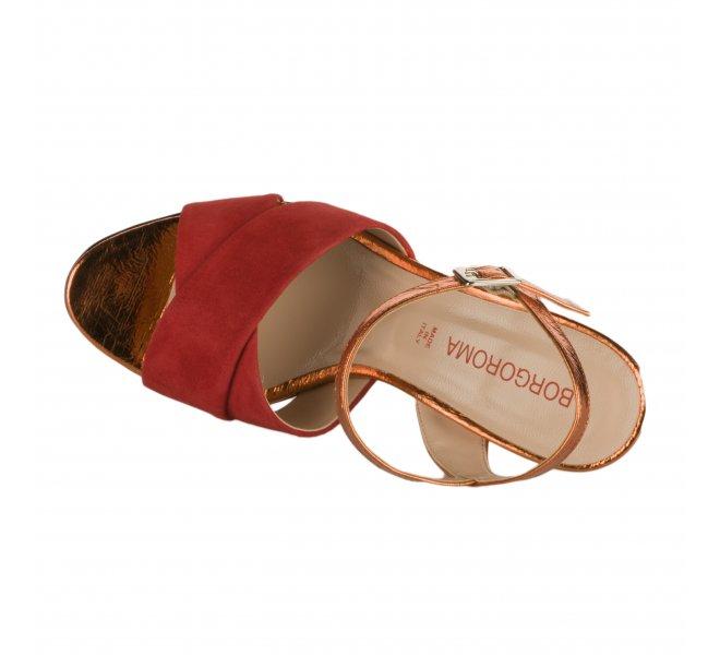 Nu pieds fille - BORGOROMA - Rouge