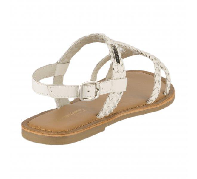 Nu-pieds fille - LES TROPEZIENNES - Blanc