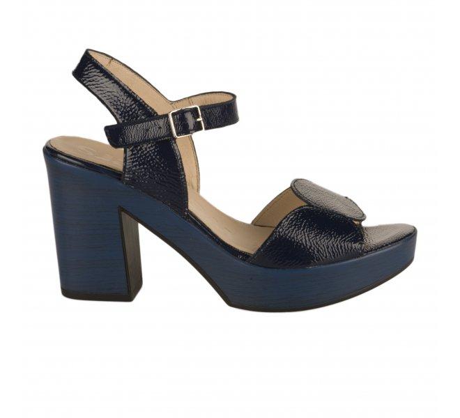 Nu pieds fille - WONDERS - Bleu verni