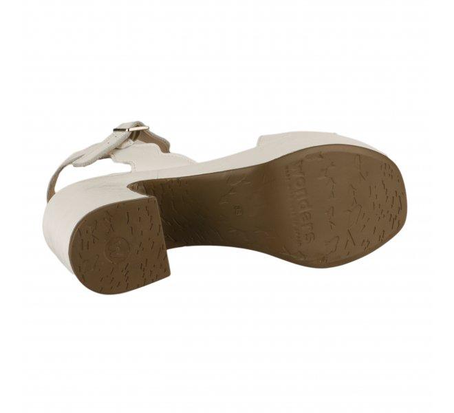 Nu pieds fille - WONDERS - Blanc verni