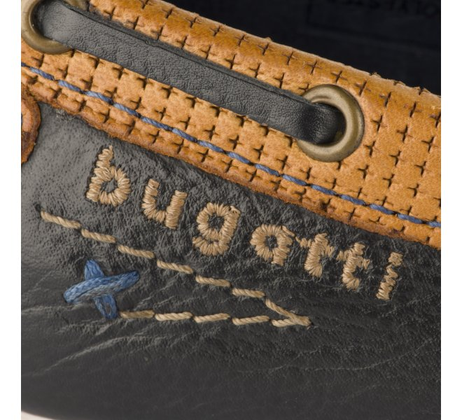Mocassins garçon - BUGATTI - Bleu marine